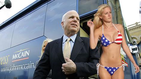 Heidi Montag Endorses John McCain